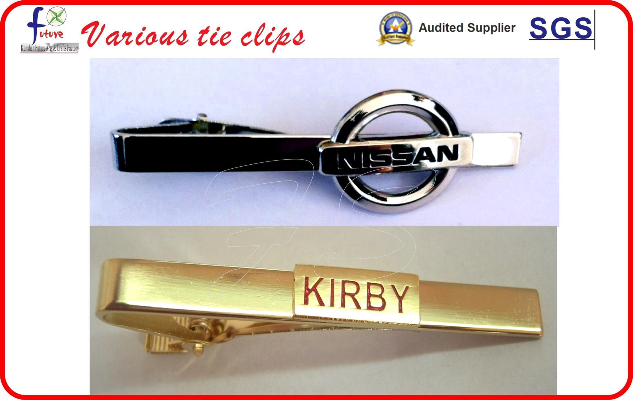 Cheap Tie Clips Bow Tie Clip with Custom Logo