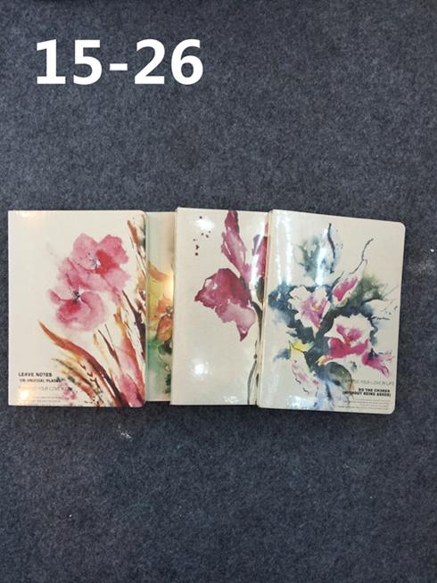Custom Printing PU Leather Notebooks