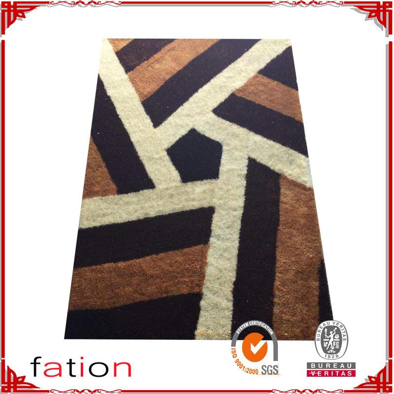 Plush Shaggy Carpet Living Room Area Rug