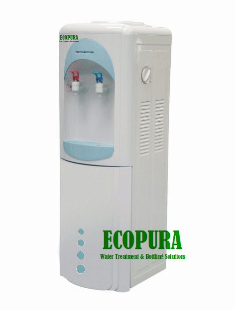 Hot and Cold Water Cooler / Water Dispenser with Fridge