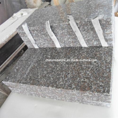 China Own Quarry Flamed Red Granite Tile Flooringfl On: China Popular New G635 Rosa Porrino Granite Floor Tile