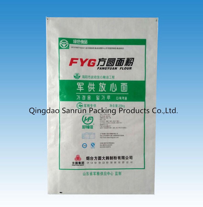 25kg Wheat Flour PP Woven Bag