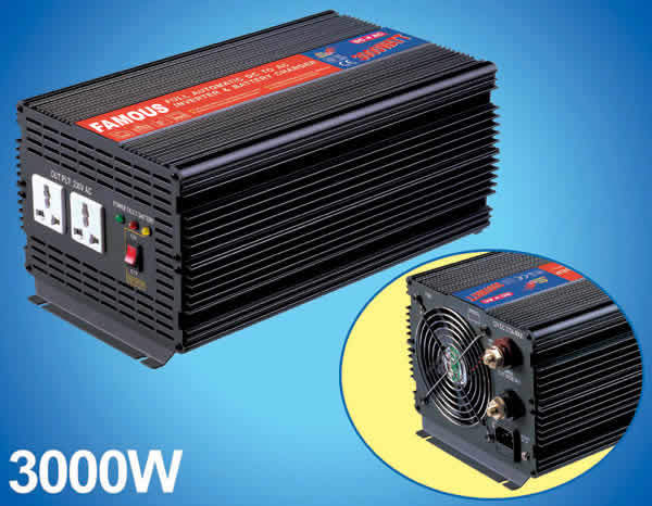 China Dc Ac Power Inverter With Battery Charger China Dc