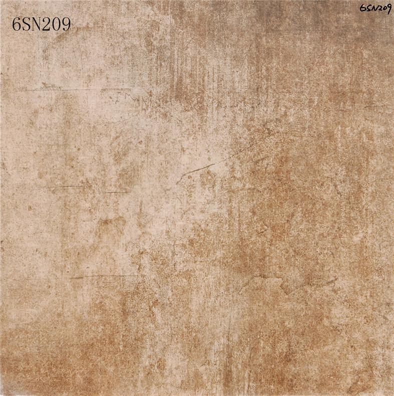 New Design Interior Flooring Non-Slip Matte Grey Cement Floor Porcelain Tile (600X600mm)