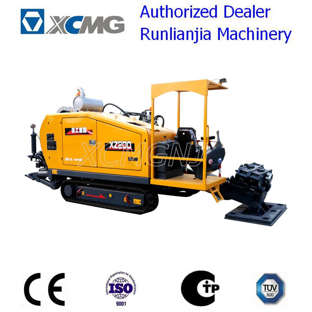 XCMG Xz200 Horizontal Directional Drilling (HDD) Rig with Cummins Engine
