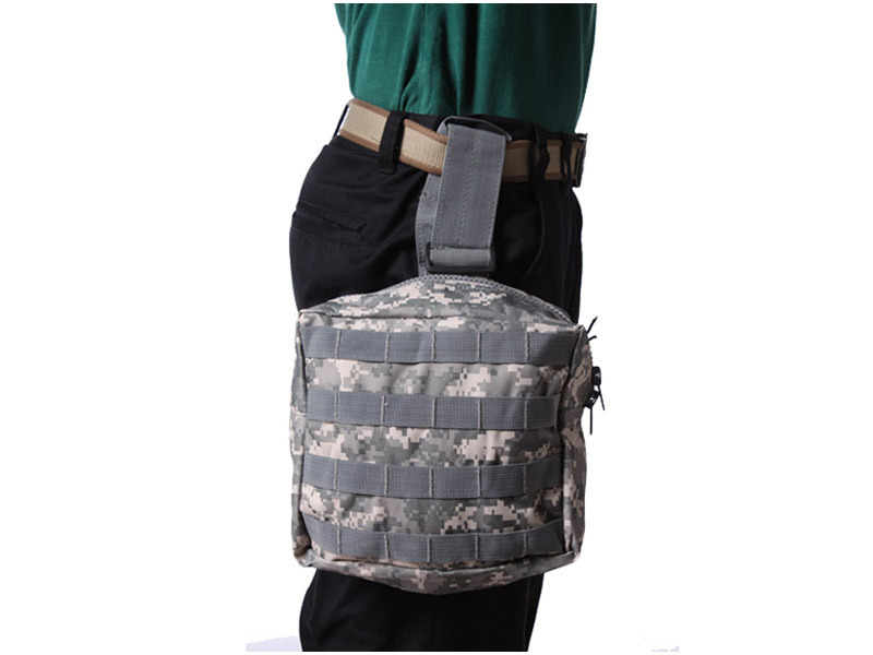 Molle Utility Drop Leg Panel Pouch Bag