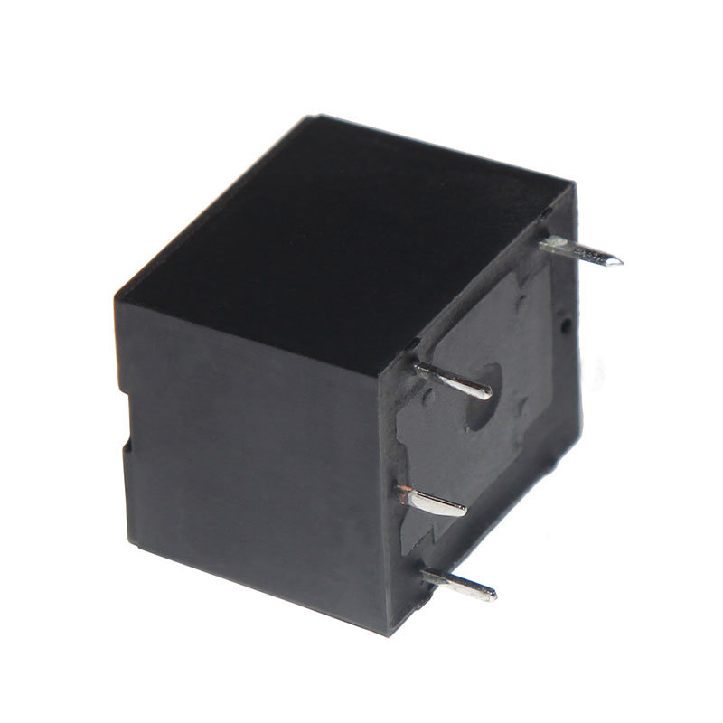 3FF (T73) 20A 12V Power Relay Black Cover Miniature Electromagnetic Relay 4pins