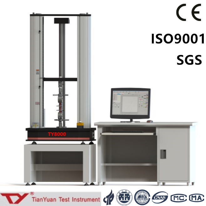 Ty8000 Electronic Universal Testing Machine 50n-10kn Test Equipment (servo motor)