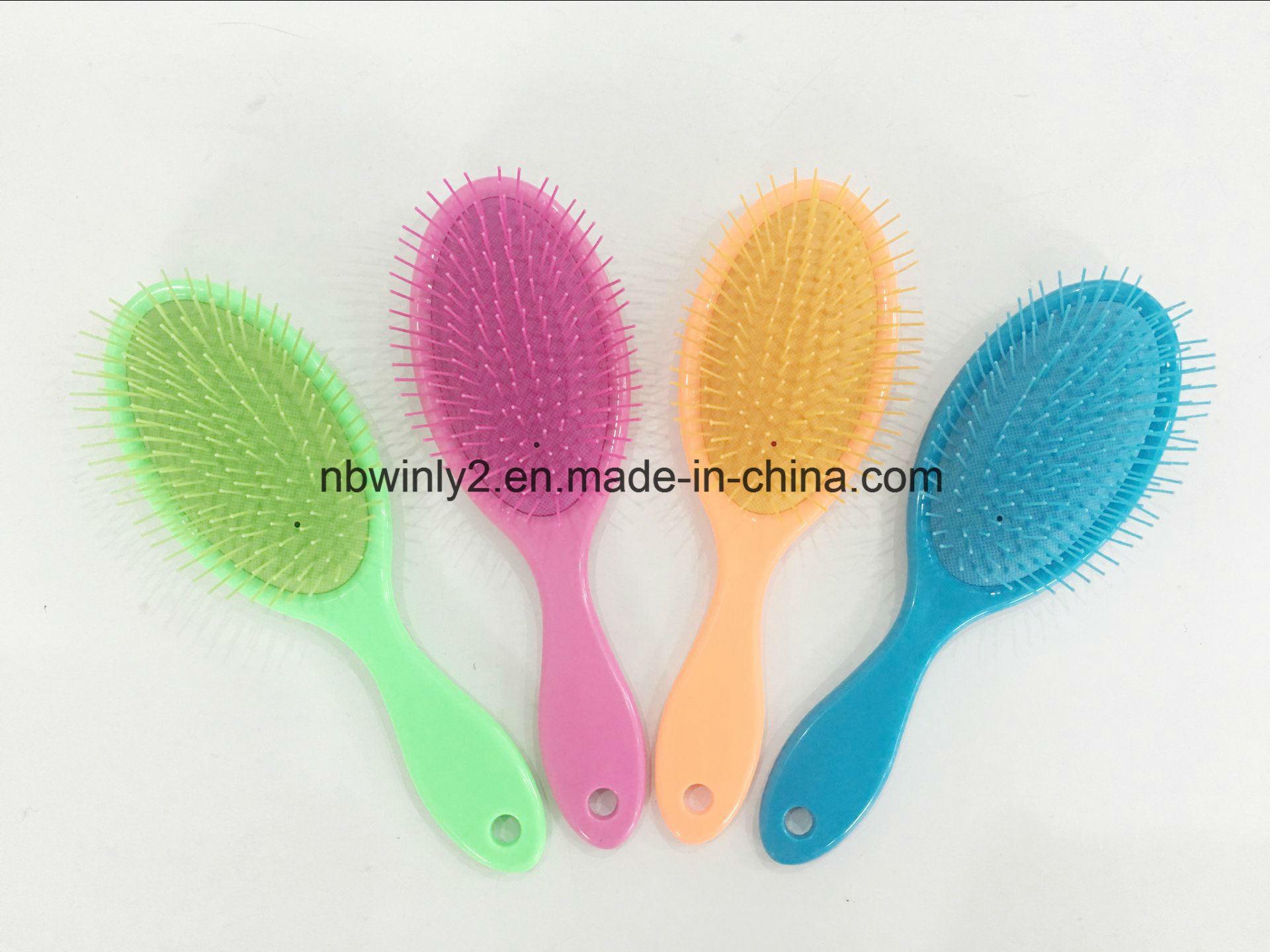 Plastic Colourized Detangle Brush