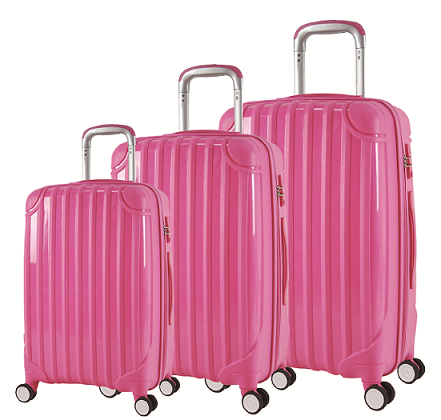 PP Material Zipper Style Travel Luggage