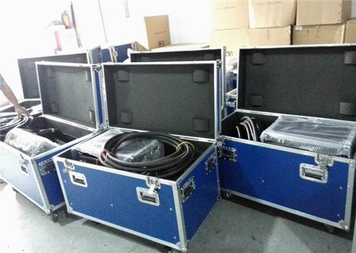 Aluminum Flight Road Case for Power Cables Speakers