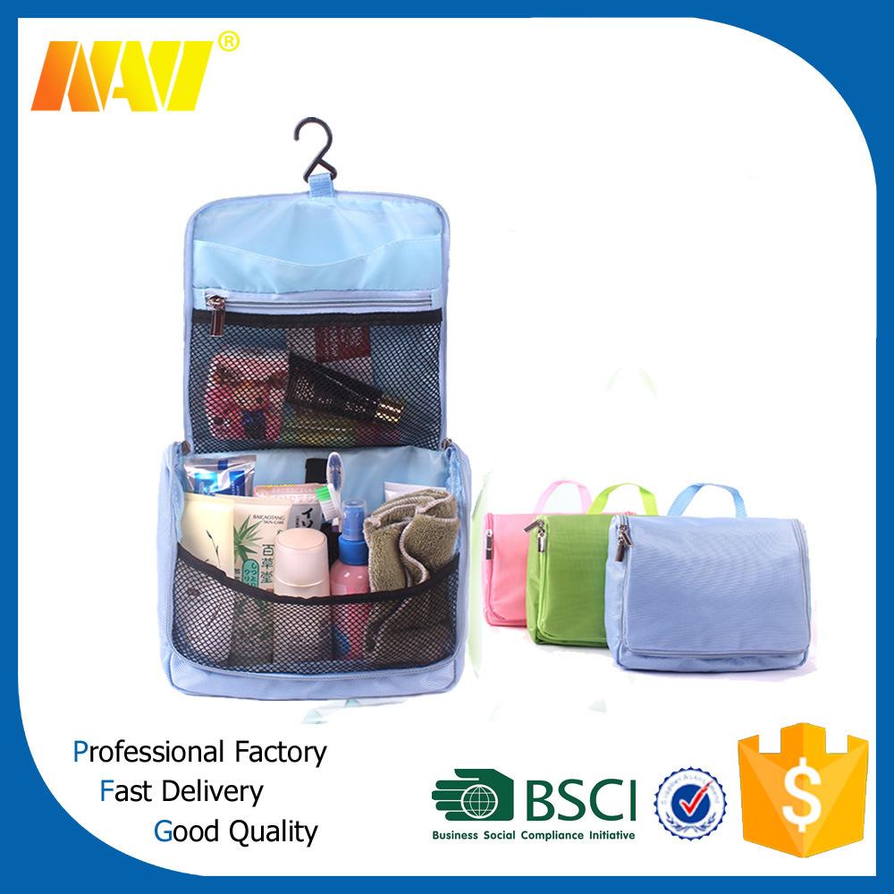 Nylon Travelling Foldable Cosmetic Bag