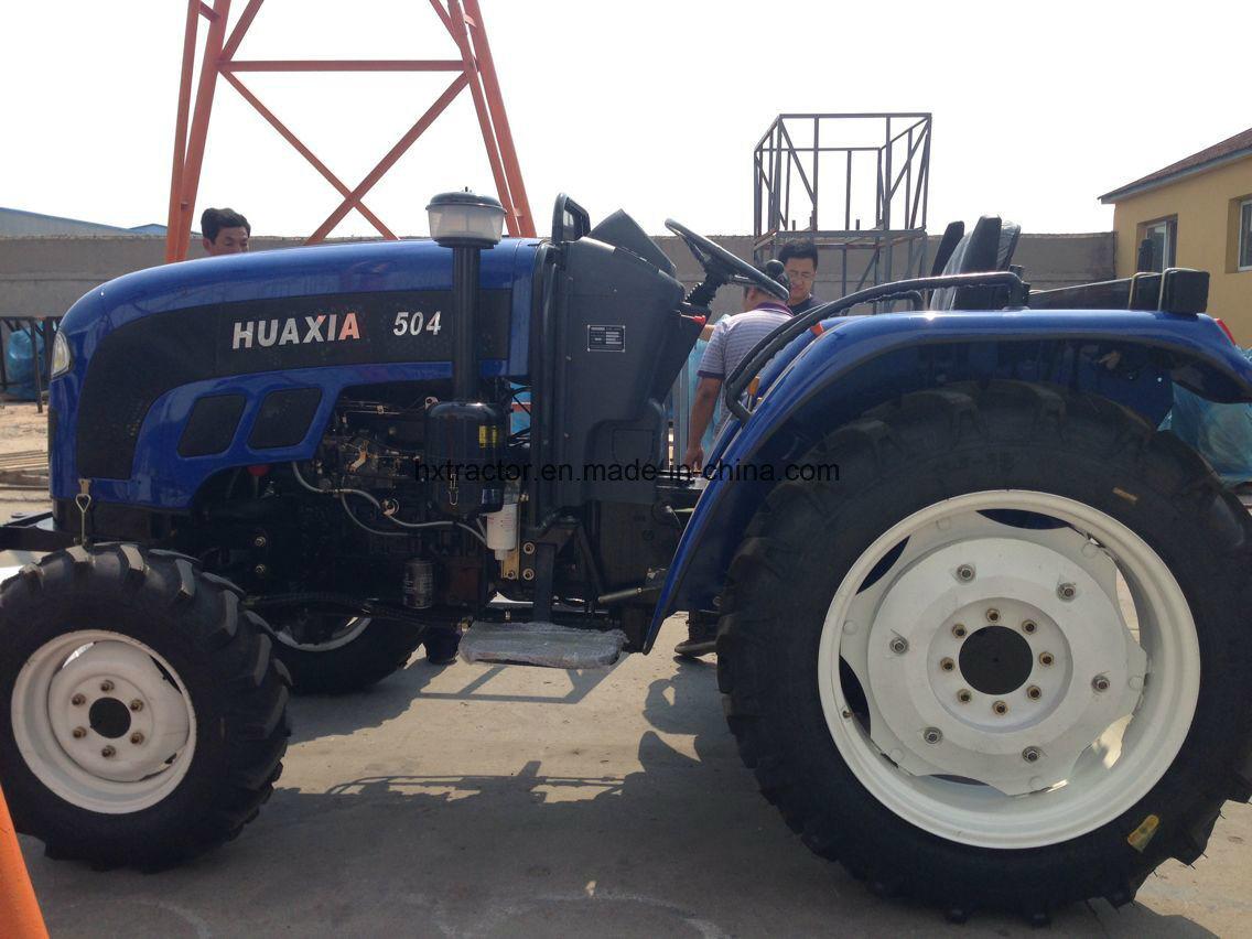 60HP 4WD Foton John Deere Farm Tractor with Disc Plough Harrow