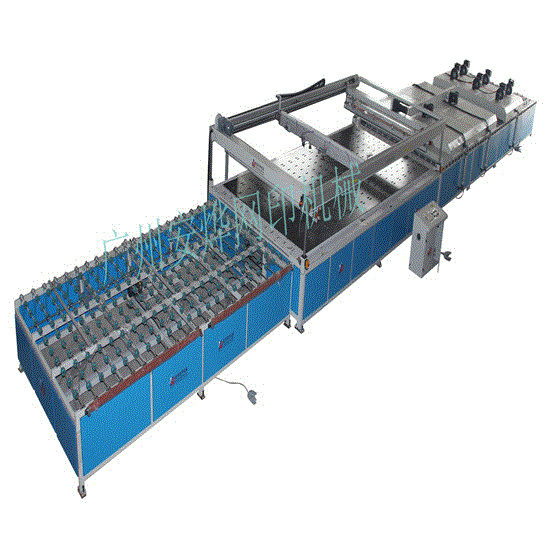 Full-Auto Four Colums Engineering Glass Screen Printing Machine