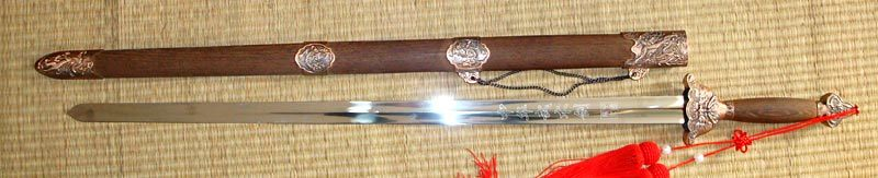Chinese Stainless Tai Chi Sword for Martial Arts Practice