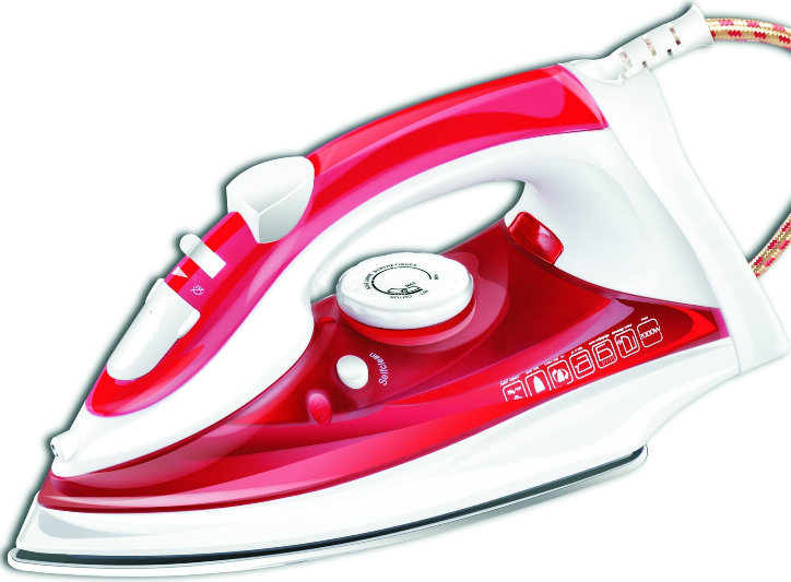 GS Approved Steam Iron for House Used (T-2108)