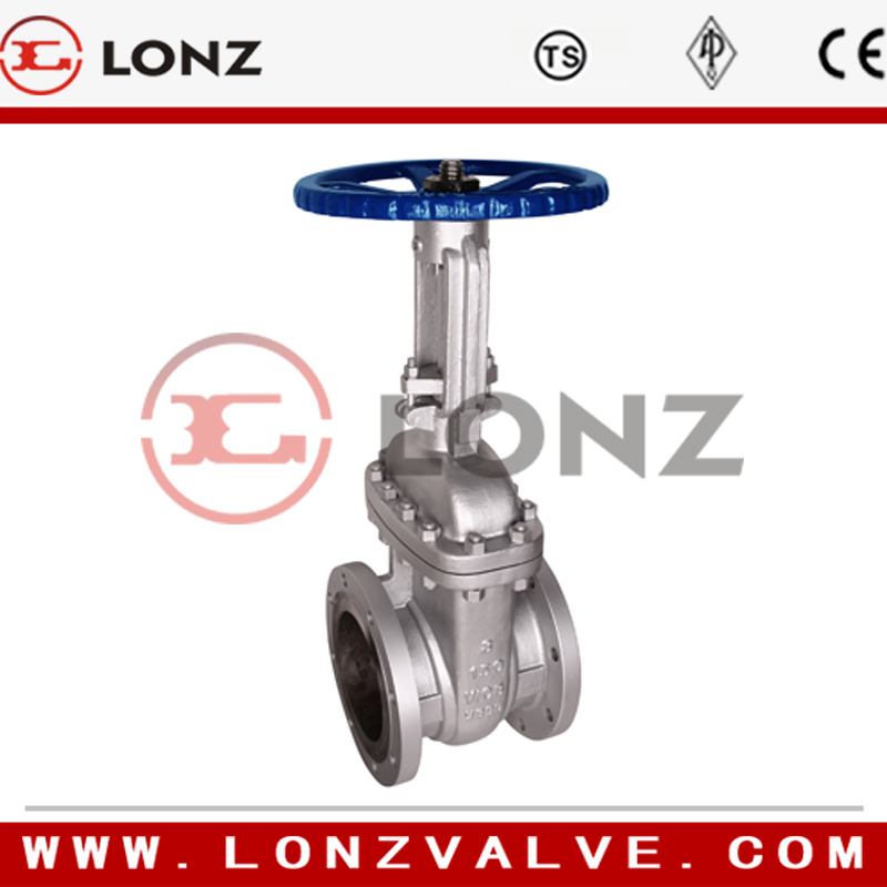 Cast Steel Flange End Gate Valve