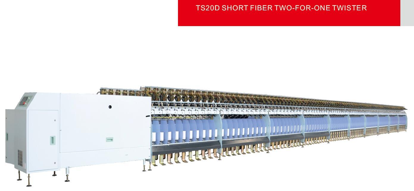 Ts20d Short Fiber Two-for-One Twister