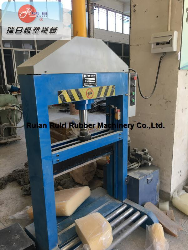 Vertical Single Blade Rubber Hydraulic Cutter/Xq-800 Cutting Machine (CE&ISO9001)