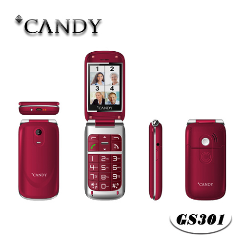 Mt6260d Flip Phone for Elder with Big Letter