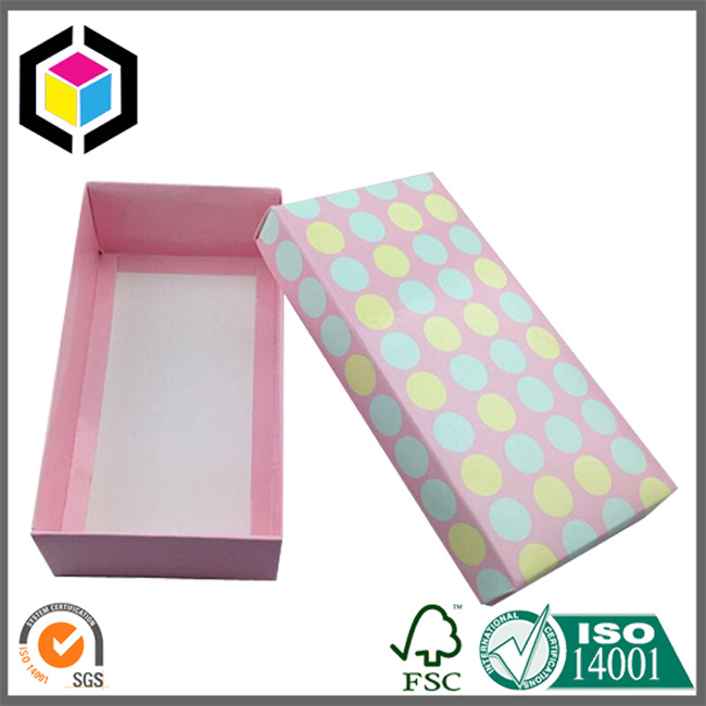 Glossy Color Clear Plastic Window Cardboard Paper Packaging Box