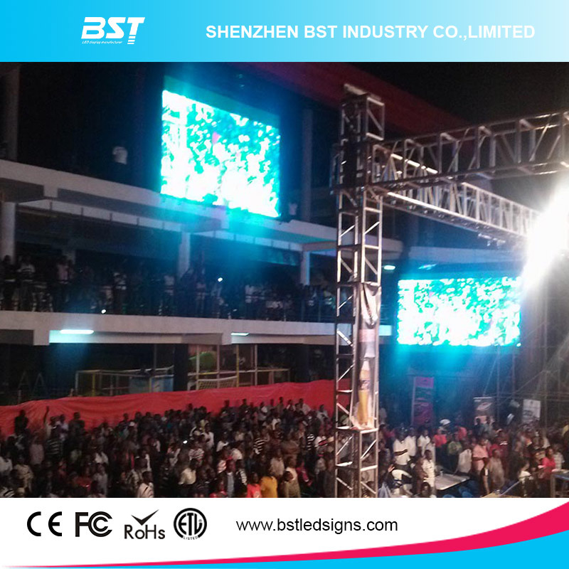 Indoor Large Full Color P6 Indoor Rental LED Display, LED Video Wall Rental Wide Viewing Angle