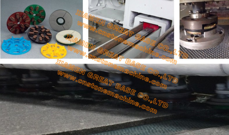 GBLXM-1200 Multi Heads Granite Polishing Machine