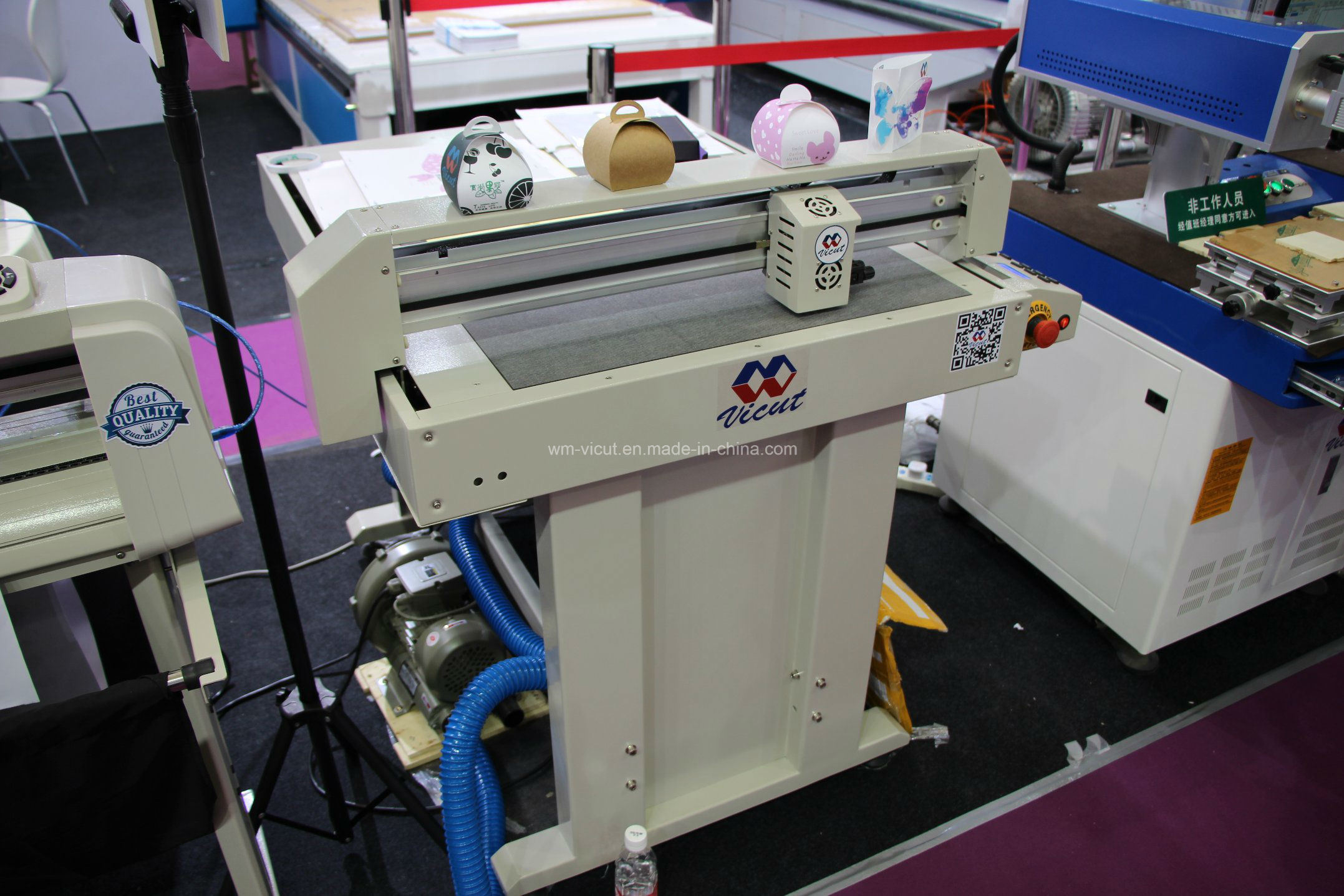 2016 600*900mm Cardboard Flatbed Plotter Cutter