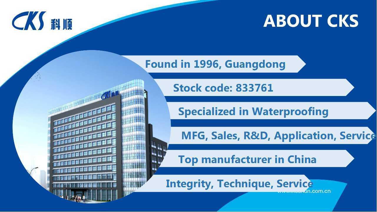 Apf-3000 Self Adhesive Reactive Cementation High Polymer Waterproof Membrane