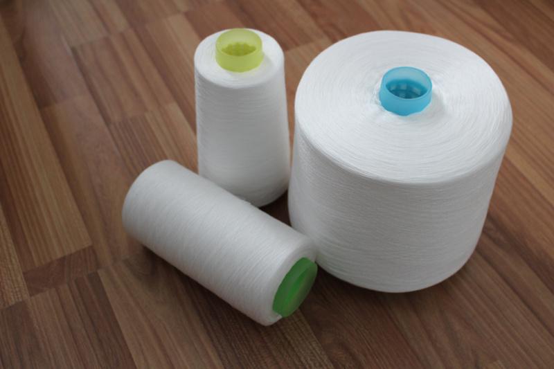Plastic Cone 100% Virgin Polyester Spun Knitting Yarn (50/2)