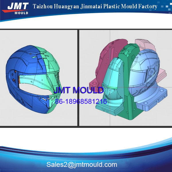 Plastic Injection Safety Helmet Making Mould