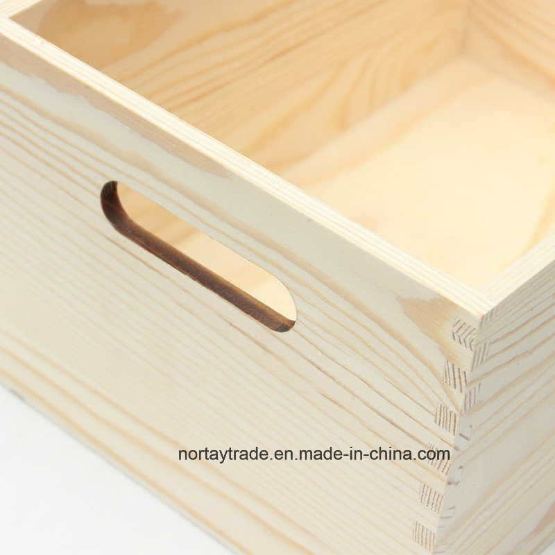 Wood Box for Storage & Display Custom-Made (NT8002)