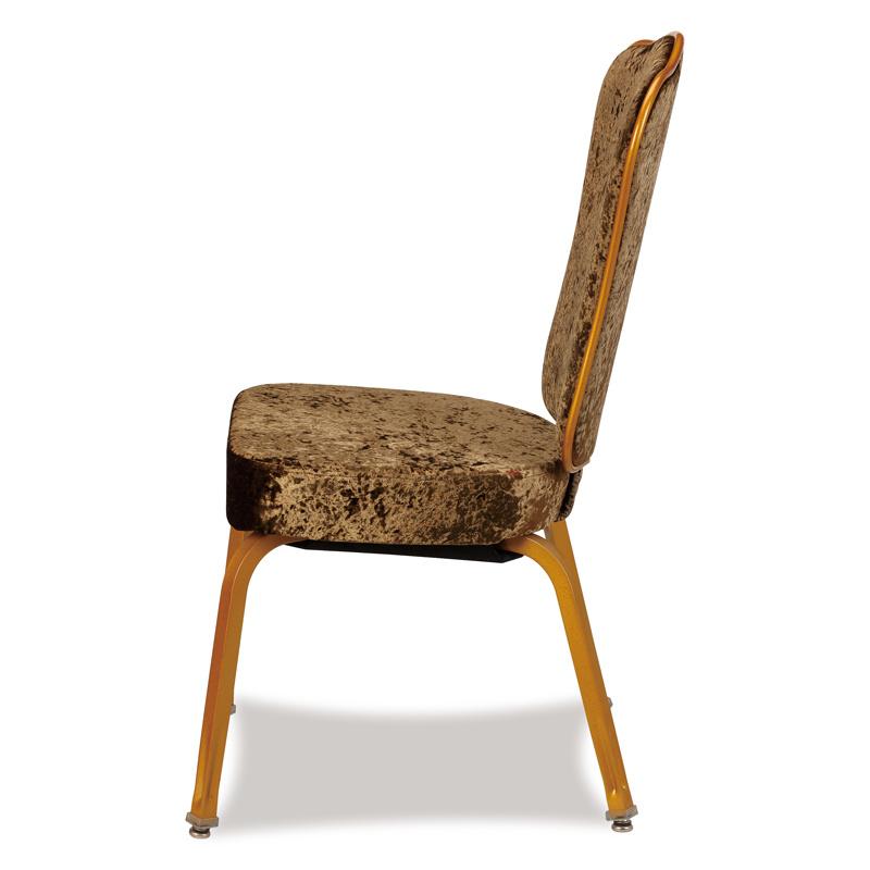 Aluminum Party Flexible Wave Back Chair