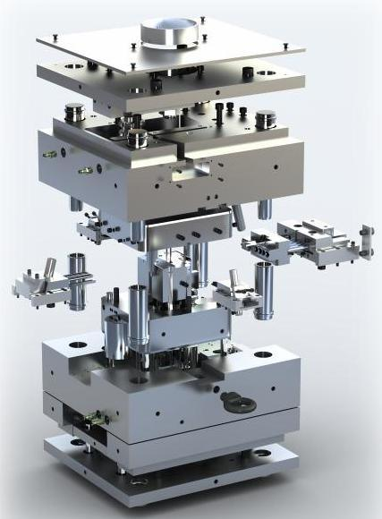 Precision Machining and Precision Parts Make for Plastic Injection Mould