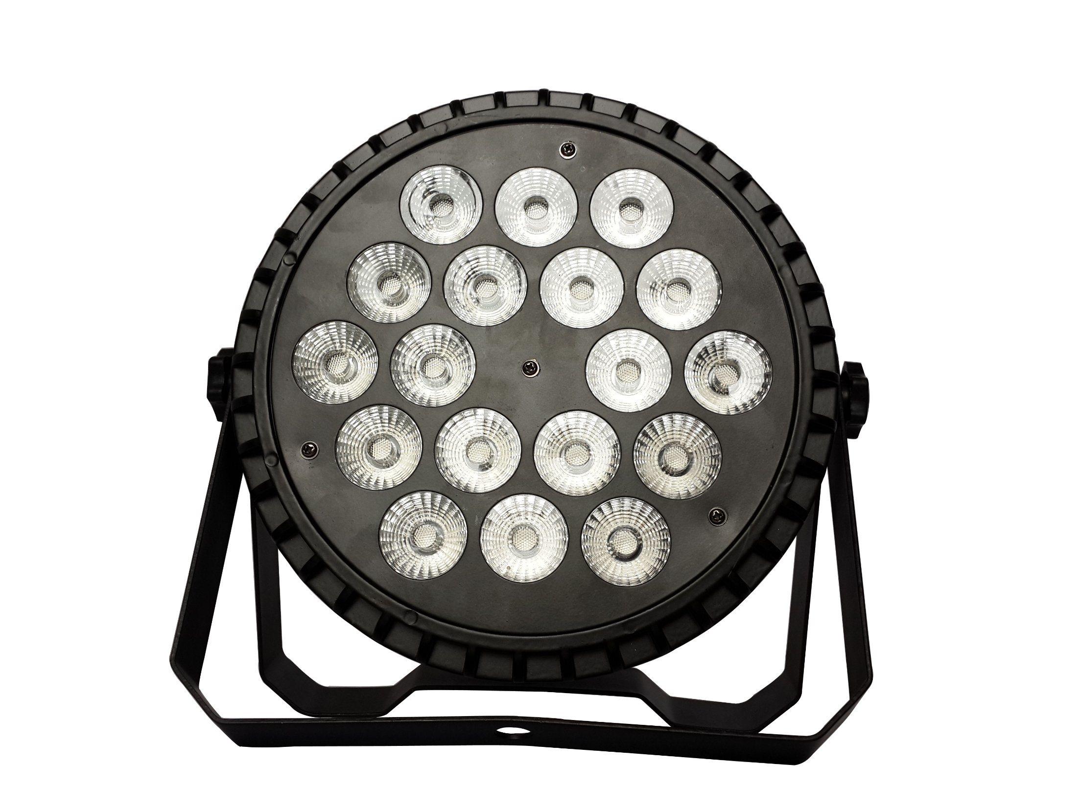Outdoor Stage 18PCS 10W 4in1 LED RGBW Sky PAR Light