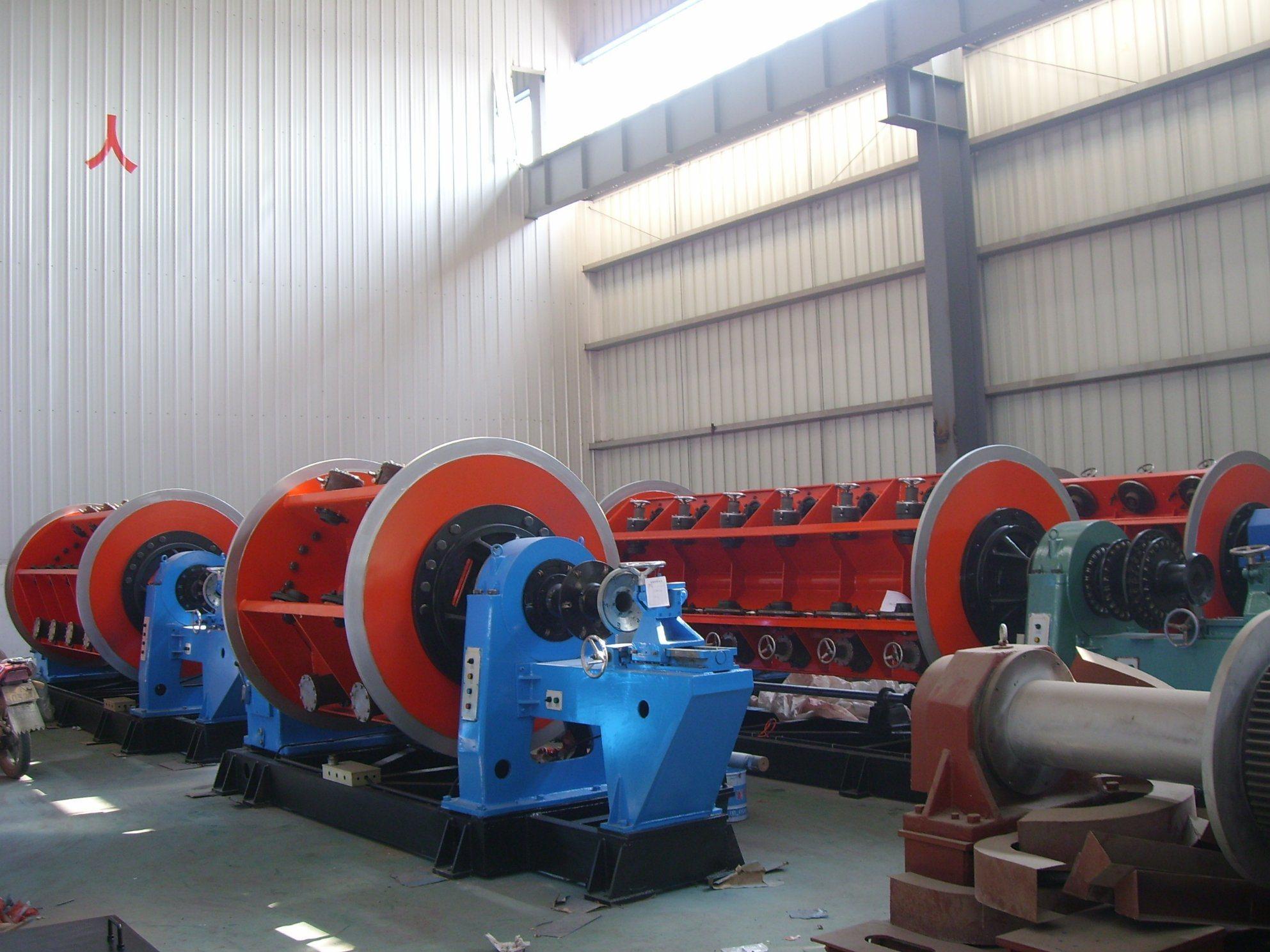 Frame Type Rigid Stranding Machine Jlk for Copper Wire