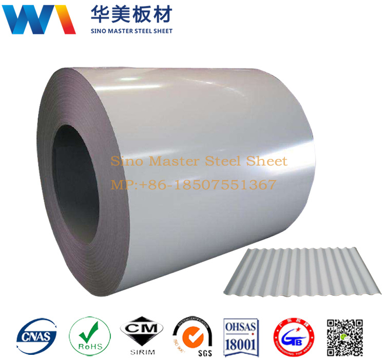 China Galvanized Steel, Prepainted Galvanized Steel Coil, Gi Supplier    Shenzhen Sino Master Steel Sheet Co., Ltd.