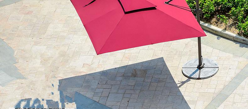 Red Outdoor Umbrella