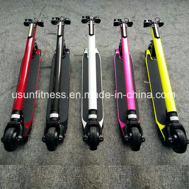 2017 Hot Sale Folding Electric Scooter with Liquid Crystal Display