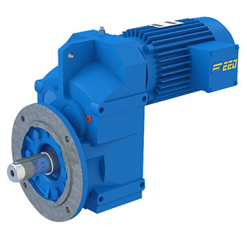 Standard F Series Parallel Shaft Helical Gearbox Speed Reducer