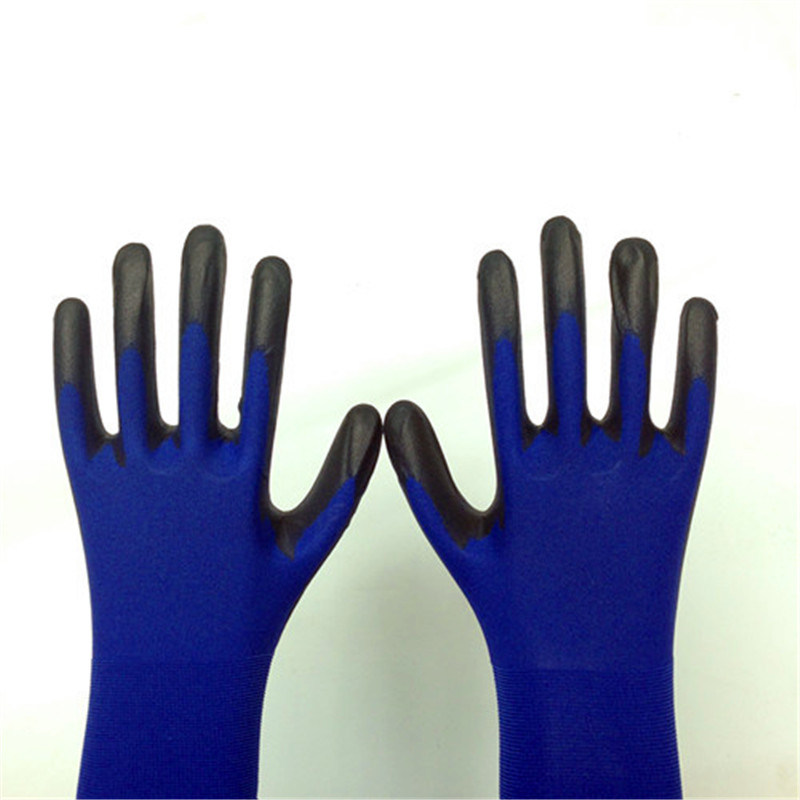 Nylon Work Gloves with PU Coating