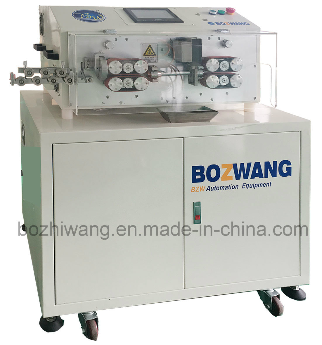 Computerized Cutting and Stripping Machine for 50 mm2 Cable