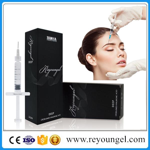 Sodium Cross-Linked Hyaluronic Acid Dermal Filler Deep 2.0ml