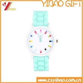 Fashion Silicone Wristband Watch, Silicon Watch