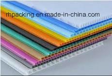 8′*4′ PP Corrugated Plastic Sheet Coroplast White Corona Treated
