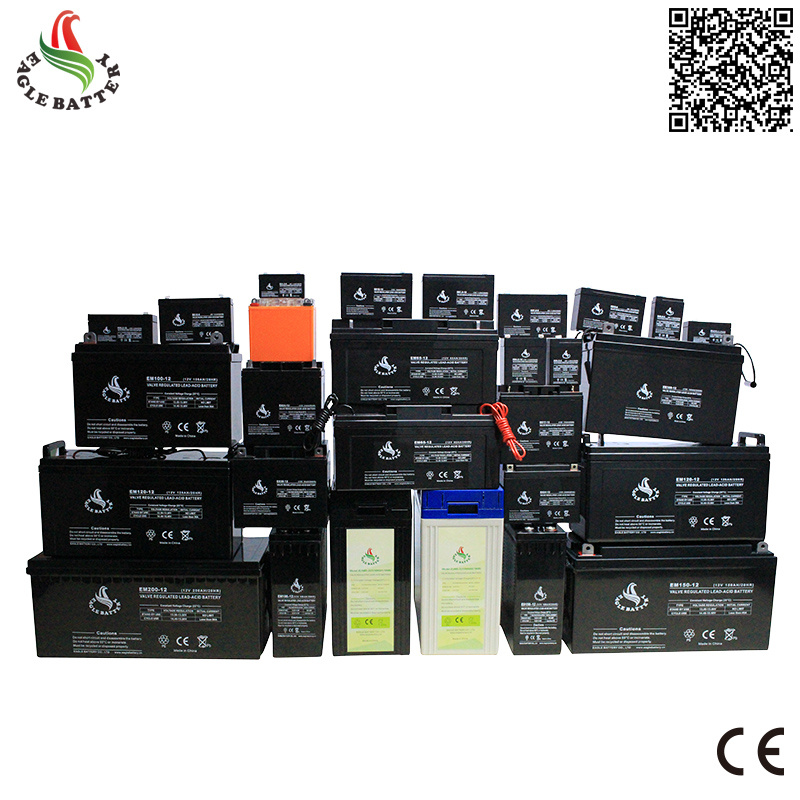 12V 17ah Solar Rechargeable Lead Acid Battery