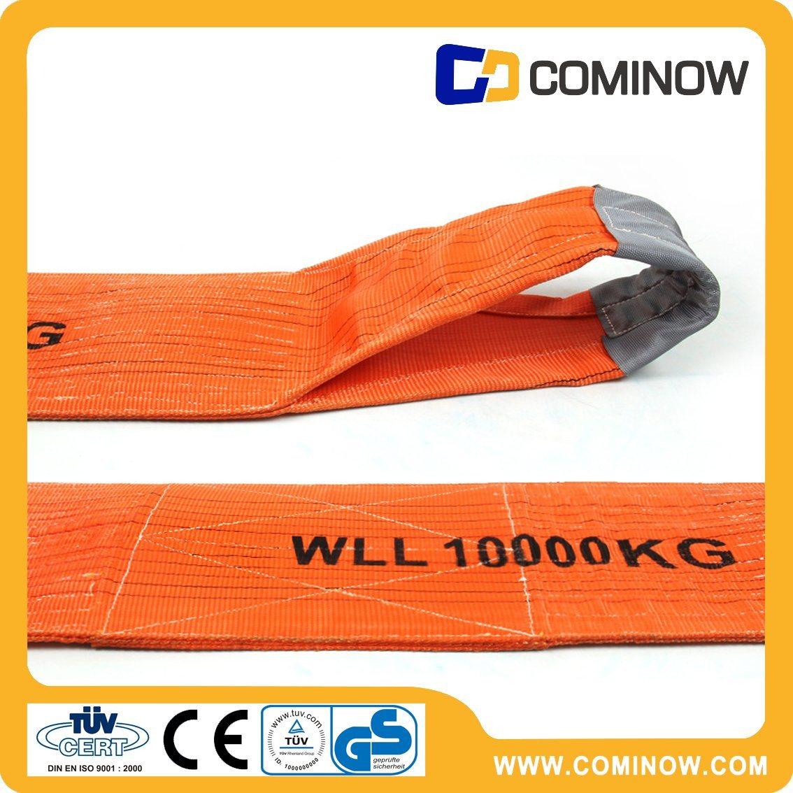 10t Heavy Duty Polyester Flat Webbing Sling / Web Sling / Lifting Sling