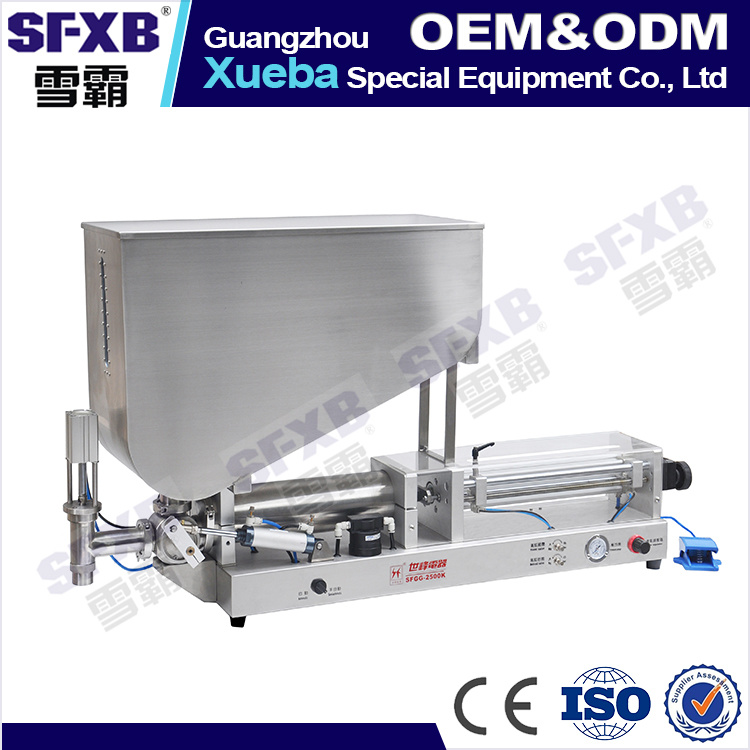 316L Stainless Steel Viscous Product Filling Machine