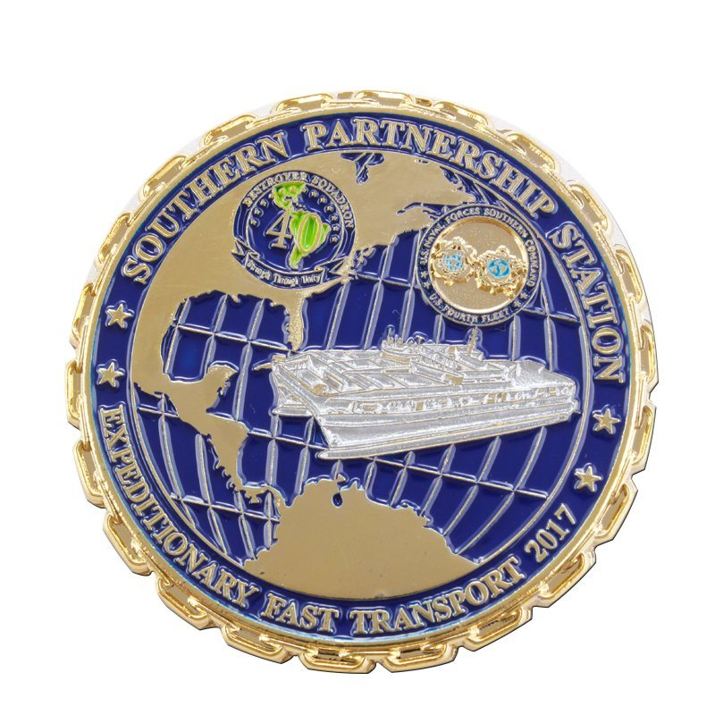 Custom Metal Souvenir Coin for Promotion