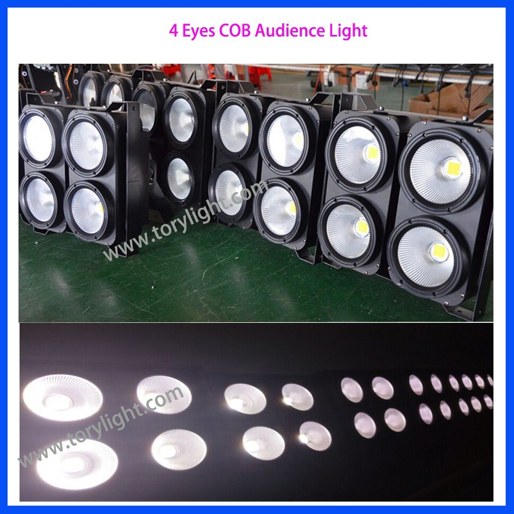 LED Equipment Disco Audience Binder 4 Eyes COB Light